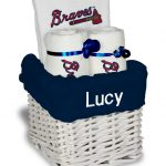 Atlanta Braves Personalized 3-Piece Gift Basket