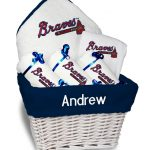 Atlanta Braves Personalized 6-Piece Gift Basket