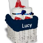 Boston Red Sox Personalized 3-Piece Gift Basket