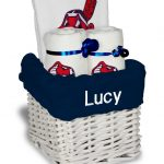 Cleveland Indians Personalized 3-Piece Gift Basket