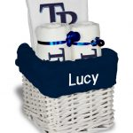 Tampa Bay Rays Personalized 3-Piece Gift Basket