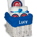 Chicago Cubs Personalized 3-Piece Gift Basket