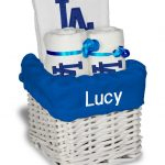 LA Dodgers Personalized 3-Piece Gift Basket