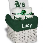 Oakland Athletics Personalized 3-Piece Gift Basket
