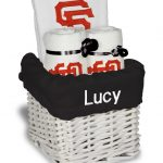 SF Giants Personalized 3-Piece Gift Basket