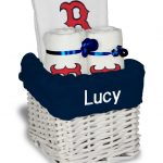 Boston Red Sox B Personalized 3-Piece Gift Basket