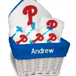 Philadelphia Phillies Personalized 6-Piece Gift Basket