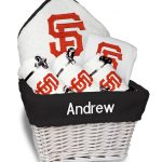 SF Giants Personalized 6-Piece Gift Basket
