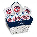 Minnesota Twins Personalized 9-Piece Gift Basket