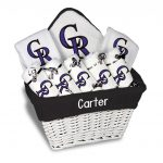 Colorado Rockies Personalized 9-Piece Gift Basket