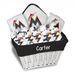 Miami Marlins Personalized 9-Piece Gift Basket