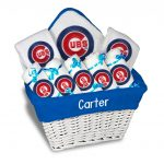 Chicago Cubs Personalized 9-Piece Gift Basket