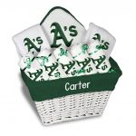 Oakland Athletics Personalized 9-Piece Gift Basket
