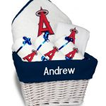 LA Angels Personalized 6-Piece Gift Basket