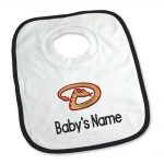 Arizona Diamonbacks Personalized Pullover Baby Bib