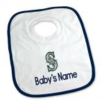 SF Giants Personalized Pullover Baby Bib