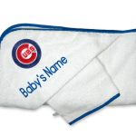 Chicago Cubs Personalized Towel and Wash Cloth Gift Set