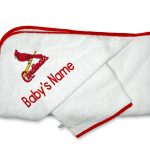St Louis Cardinals Personalized Towel and Wash Cloth Gift Set
