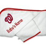 Washington Nationals Personalized Towel and Wash Cloth Gift Set