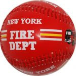 NY Fire Dept Red Baseball