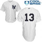 Alex Rodriguez No Name Jersey – Number Only Replica by Majestic