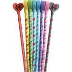I Love NY Assorted Pencil Toppers (6 pc)