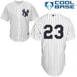 Don Mattingly No Name Jersey – Number Only Replica by Majestic