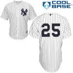 Mark Teixeira No Name Jersey – Number Only Replica by Majestic