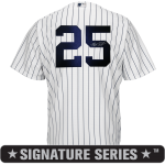 Mark Teixeira Signature Series No Name Jersey – NY Yankees Replica Adult Home Jersey