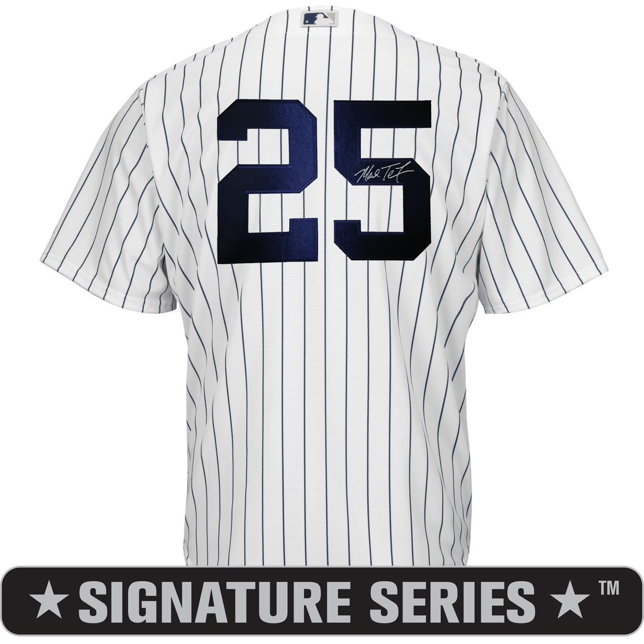 b7933b12 Mark Teixeira Signature Series No Name Jersey – NY Yankees Replica Adult  Home Jersey