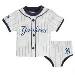 Yankees Infant Pinstripe 2-pc. Set