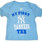 "Yankees Baby ""My New First Tee""- Blue"