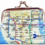 NYC Subway Map Coin Purse