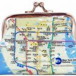 NYC Subway Map Coin Purse
