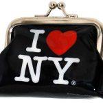 I Love NY Black Coin Purse