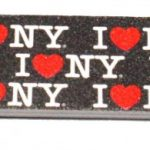 I Love NY Allover Nail File – Black
