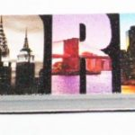 New York City Icons in Letters Nail File