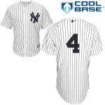 Lou Gehrig No Name Jersey – Number Only Replica by Majestic
