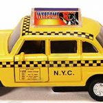 NYC Classic Checkered Taxi 4.5″ Pullback Toy Car