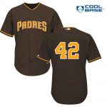 Jackie Robinson Day 42 Jersey – San Diego Padres Replica Adult Brown Jersey