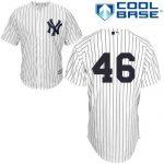 Andy Pettitte No Name Jersey – Number Only Replica by Majestic