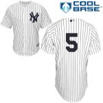 Joe DiMaggio No Name Jersey – Number Only Replica by Majestic