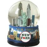 "NYC ""Blue Skies"" 45mm Snowglobe"