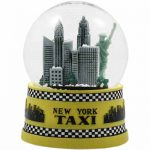 NYC Taxi 45mm Snowglobe