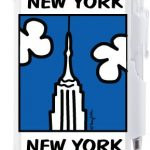 NYC Empire State Building Flip Style Notepad