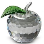 NYC Clear Crystal Apple – 1.5 Inch