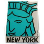 "NYC "" Lady Liberty"" Magnet"