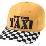 NY Taxi Embroidered Cap
