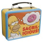 Simpsons Large Tin Tote