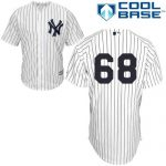 Dellin Betances No Name Jersey – Number Only Replica by Majestic